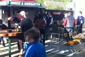 Biergarten Rügen und Rollerverleih Villa Sonnenschein
